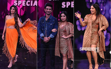 Sonchiriya Pair Sushant Singh Rajput-Bhumi Pednekar Promote The Movie On Super Dancer 3