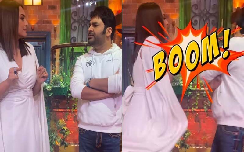 Kapil Sharma Gets Punched By Sonakshi Sinha In His First Reel After He Takes A Dig At Her Father Shatrughan Sinha-Watch Video