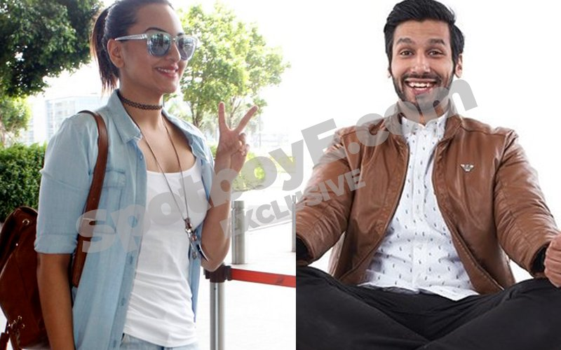 Sonakshi Off To London With Kanan Gill
