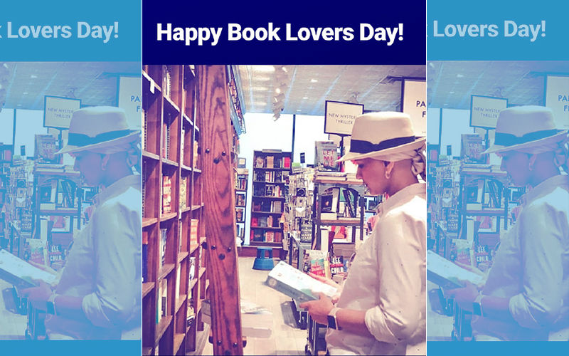 Sonali Bendre Celebrates 'Book Lovers Day' In New York, View Pic