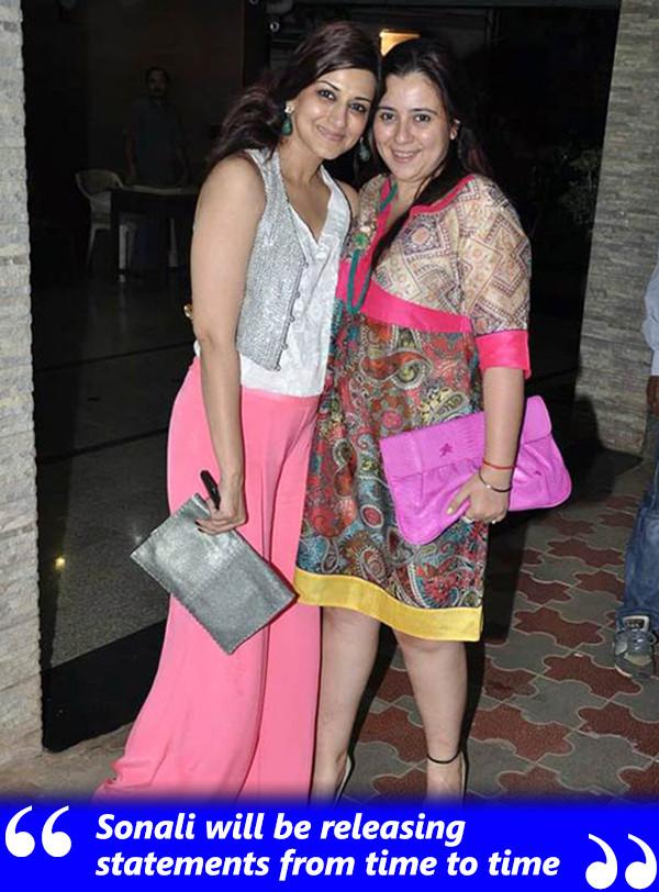 Sonali Bendre With Shrishti Arya