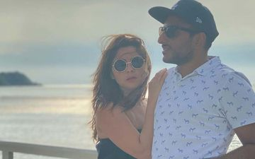 Sonalee Kulkarni And Fiancee Kunal Benodekar Vacationing On The Beaches Of Goa