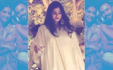 Sonam's Mehendi Party: Sister Rhea Grooves To 'Gud Naal Ishq Mitha'