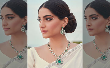 Wedding Trend: Sonam Kapoor's White Saree, Asymmetrical Blouse And Pearl On The Eyes Could Be The Biggest Wedding Trend This Season