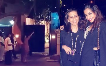 Video: Sonam Kapoor's Mother Oversees Wedding Decorations At Their Bungalow