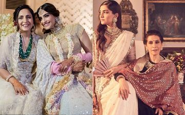 Happy Mother's Day 2020: Sonam Kapoor's Rare And Unseen Pictures With Anand Ahuja's Mom Priya, And Her Mum Sunita