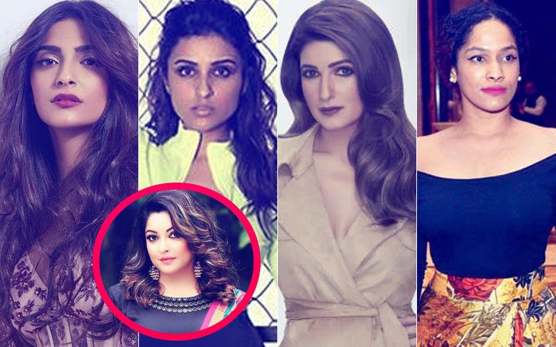 Tanushree Dutta-Nana Patekar Controversy: Sonam Kapoor, Parineeti Chopra, Twinkle Khanna, Masaba Gupta Stand By The Actress