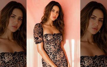 Punjabi Actress Sonam Bajwa Looks Breathtaking in Leopard Print Hot Dress