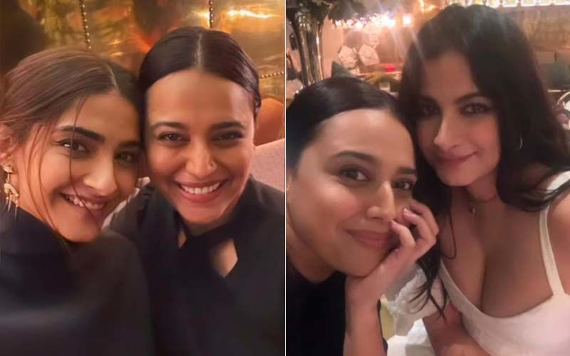 Inside Swara Bhasker's Fun Party Night With BFF Sonam Kapoor, 'Coolest Bride' Rhea Kapoor And Nora Fatehi- See Pics