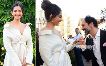Sonam Kapoor Plays It Right With White! Sexy S Is A Slayer At The Chopard Event