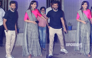 Sonam Kapoor & Anand Ahuja Steal Private Time Before Wedding, View Pics