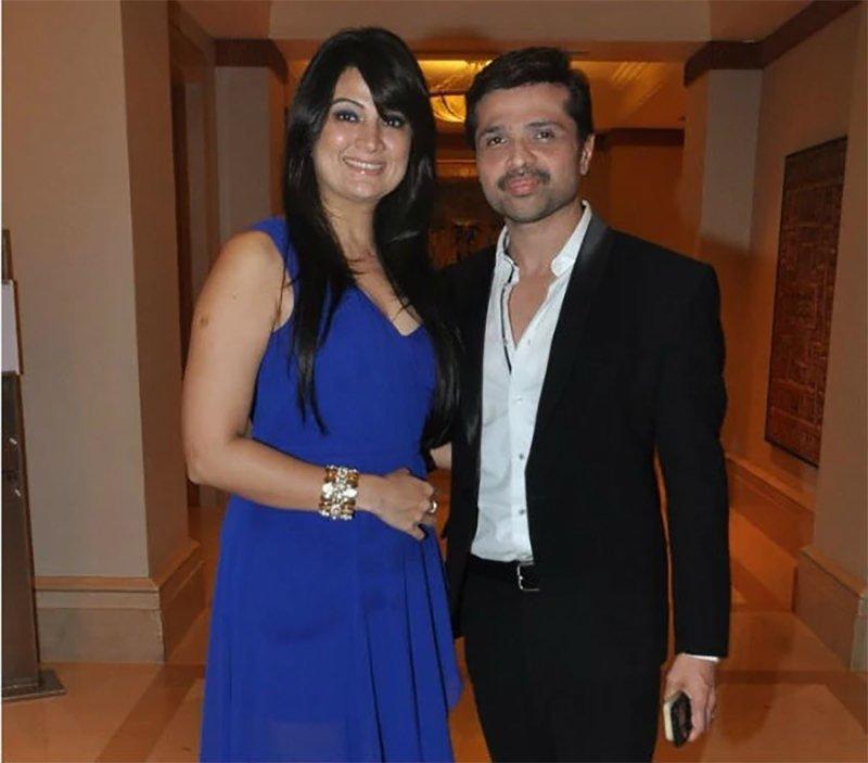 Sonia Kapoor With Himesh Reshammiya