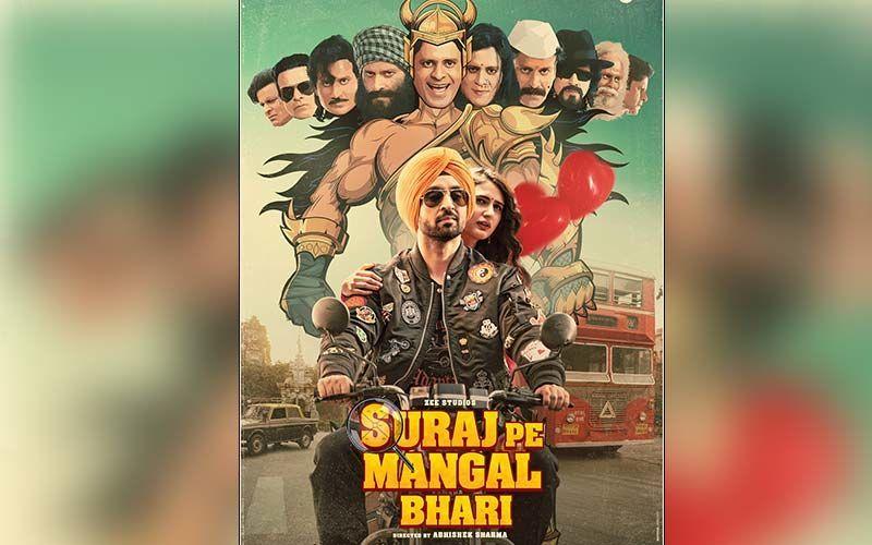 Suraj Pe Mangal Bhari: 159 Police And BMC COVID-19 Warriors Watch Manoj Bajpayee, Diljit Dosanjh And Fatima Sana Shaikh Starrer In Theatres