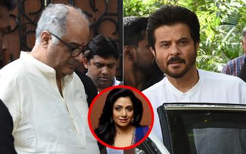 Sridevi's 1ST Death Anniversary: Boney And Anil Kapoor Reach Chennai For Prayer Meet