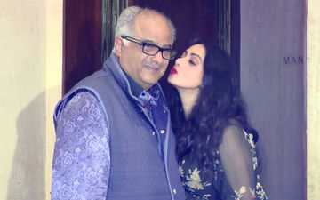 "On Eve Of Sridevi's Birth Anniversary, Boney Kapoor Gets Emotional & Says, ""We Miss Her Every Minute"""