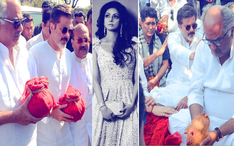 Pics: Boney Kapoor, Anil Kapoor, Manish Malhotra & Amar Singh In Haridwar To Offer Prayers For Sridevi