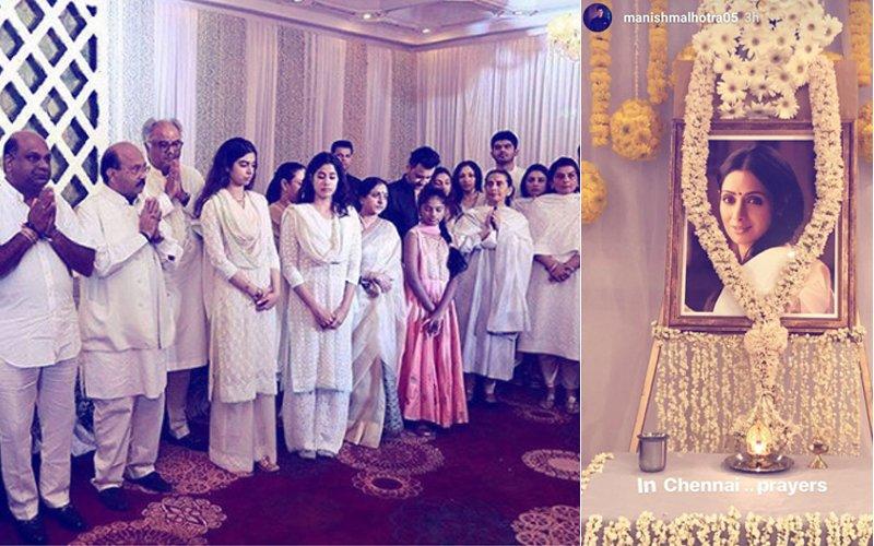 Sridevi's Prayer Meet In Chennai: Kollywood Pays Tribute