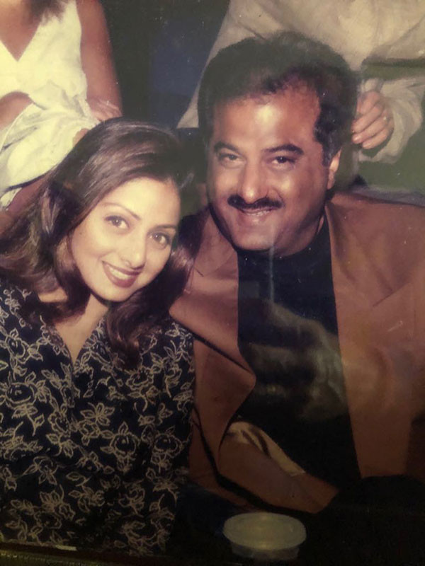 Sridevi and Boney in their younger days