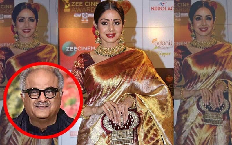 Sridevi's 1st Death Anniversary: Boney Kapoor Auctions Late Actress' Kota Saree; Proceeds To Be Donated To NGO