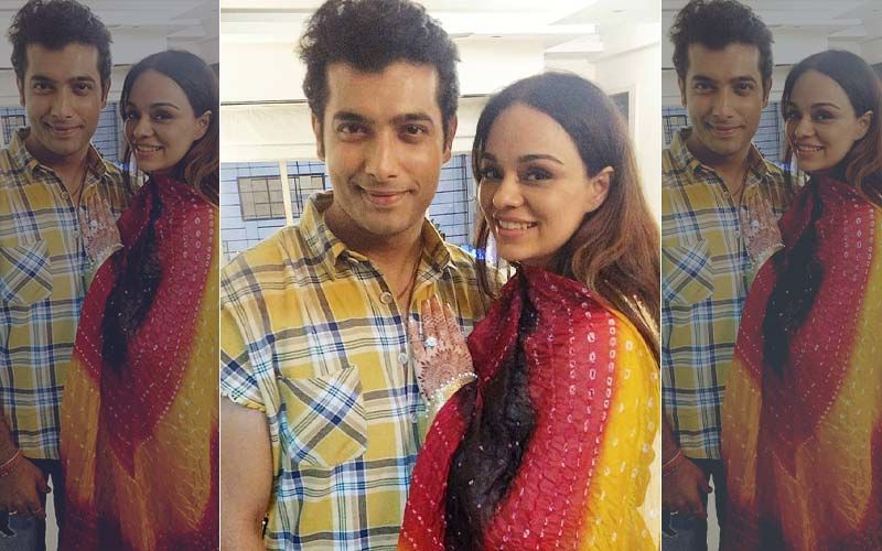 Newlywed Ssharad Malhotra-Ripci Bhatia's First Picture Post-Wedding