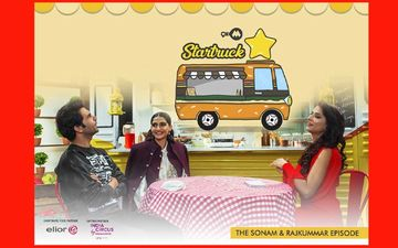 9XM Startruck With Sonam Kapoor And Rajkummar Rao- Catch The Episode Tomorrow!