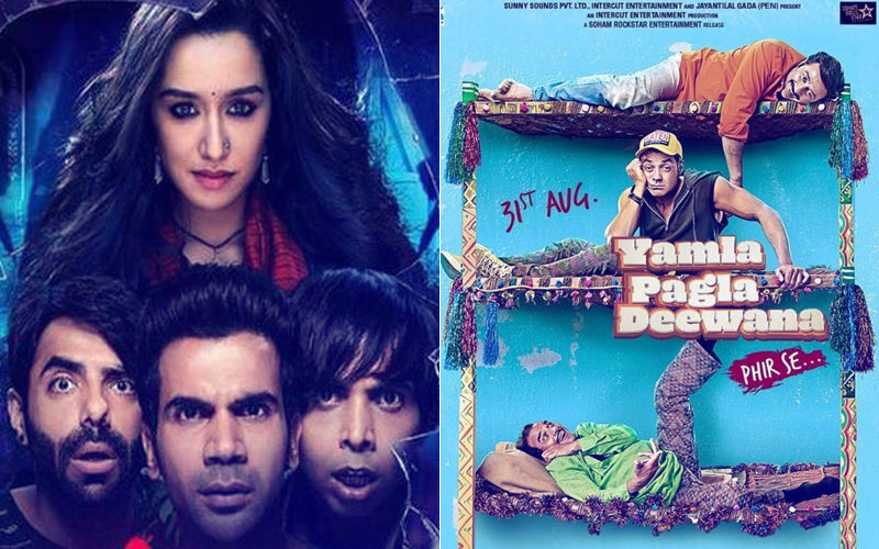 Stree, Yamla Pagla Deewana Phir Se Box-Office Collection, Day 2: Shraddha Kapoor-Rajkummar Rao Outpace Deols By A Distance