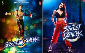 Street Dancer 3 Posters:  Varun Dhawan-Shraddha Kapoor Are Back To Make You Groove!