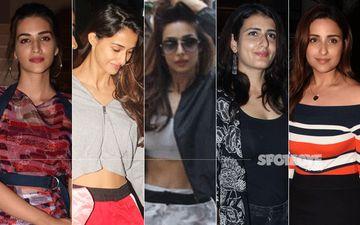 STUNNER OR BUMMER: Kriti Sanon, Disha Patani, Malaika Arora, Fatima Sana Shaikh Or Parineeti Chopra?