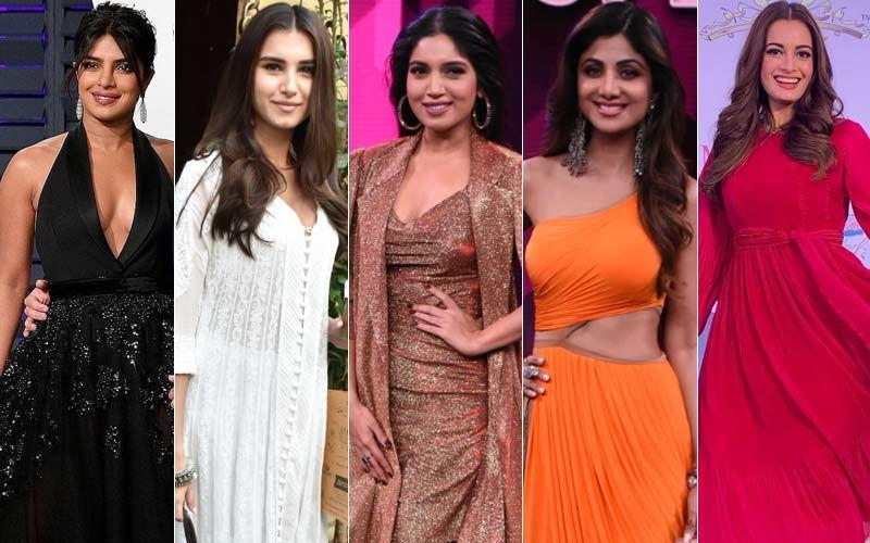 STUNNER OR BUMMER: Priyanka Chopra, Tara Sutaria, Bhumi Pednekar, Shilpa Shetty Or Dia Mirza?