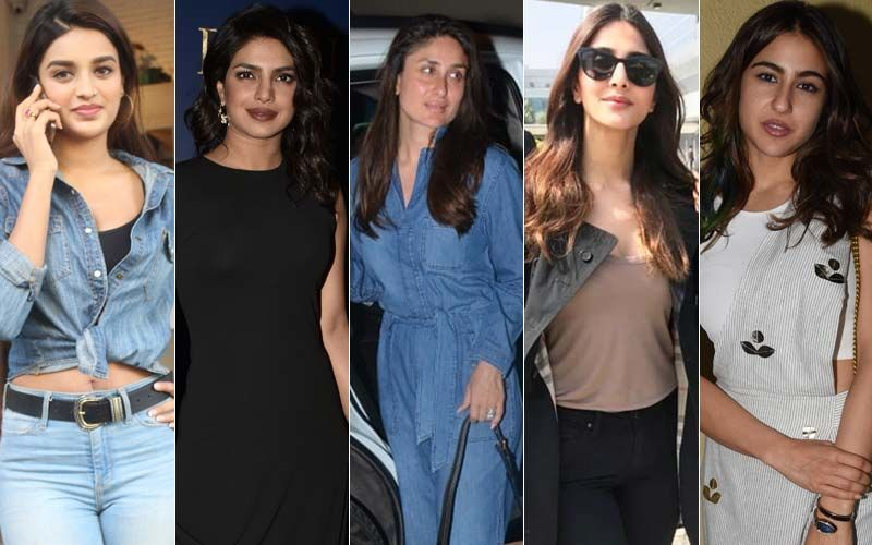 STUNNER OR BUMMER: Nidhhi Agerwal, Priyanka Chopra, Kareena Kapoor Khan, Vaani Kapoor Or Sara Ali Khan?