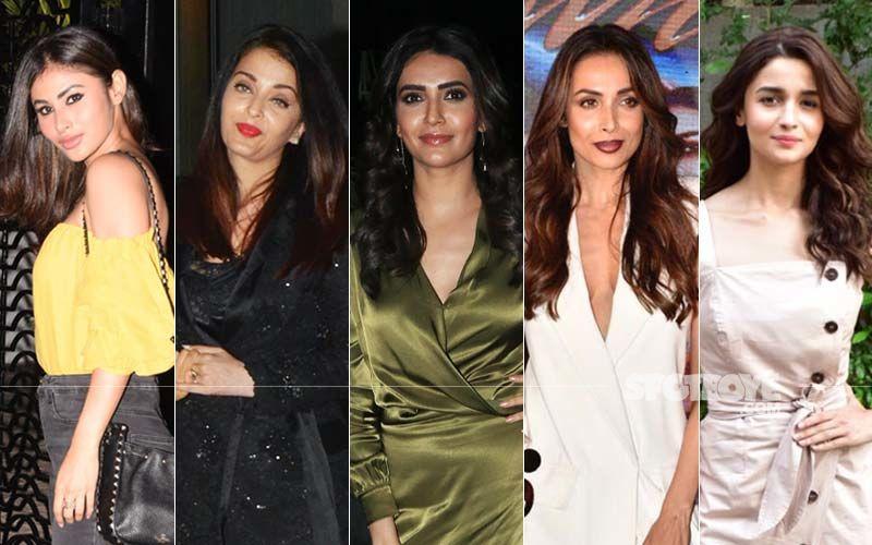 STUNNER OR BUMMER: Mouni Roy, Aishwarya Rai Bachchan, Karishma Tanna, Malaika Arora Or Alia Bhatt?