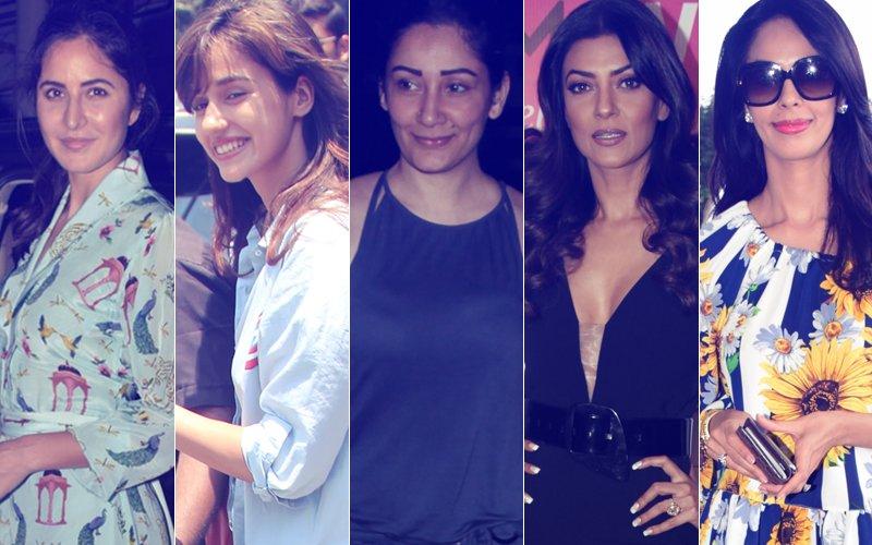 STUNNER OR BUMMER: Katrina Kaif, Disha Patani, Maanayata Dutt, Sushmita Sen Or Mallika Sherawat?