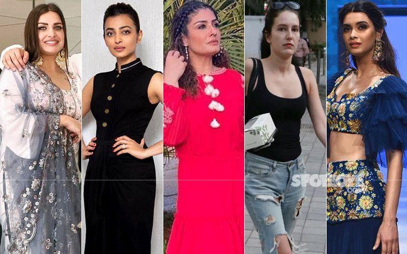 STUNNER OR BUMMER: Himanshi Khurana, Radhika Apte, Raveena Tandon, Isabelle Kaif Or Diana Penty?