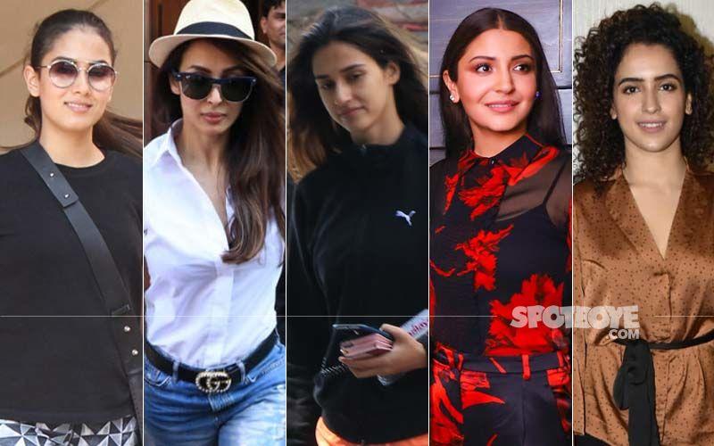 STUNNER OR BUMMER: Mira Rajput, Malaika Arora, Disha Patani, Anushka Sharma Or Sanya Malhotra?