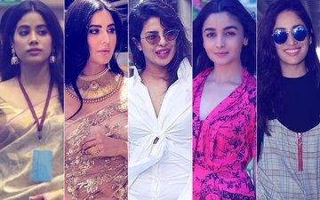 STUNNER OR BUMMER: Janhvi Kapoor, Katrina Kaif, Priyanka Chopra, Alia Bhatt Or Yami Gautam?