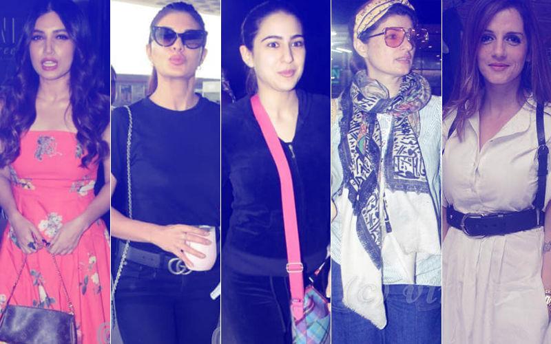 STUNNER OR BUMMER: Bhumi Pednekar, Jacqueline Fernandez, Sara Ali Khan, Twinkle Khanna Or Sussanne Khan?