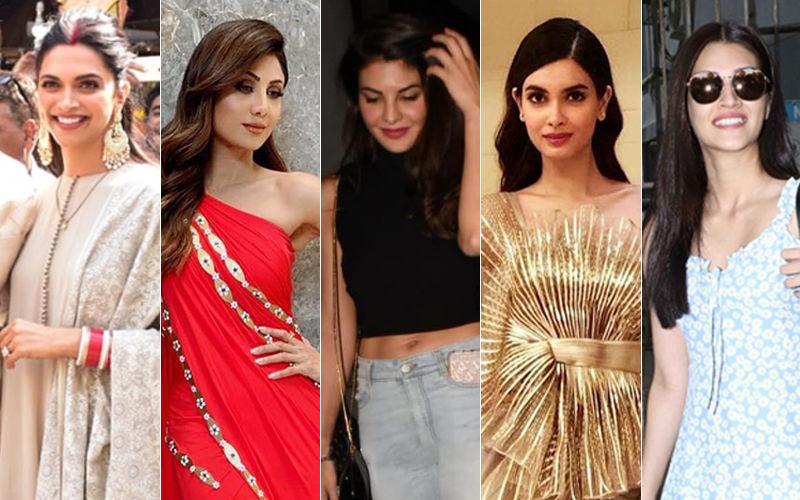 STUNNER OR BUMMER: Deepika Padukone, Shilpa Shetty, Jacqueline Fernandez, Diana Penty Or Kriti Sanon?