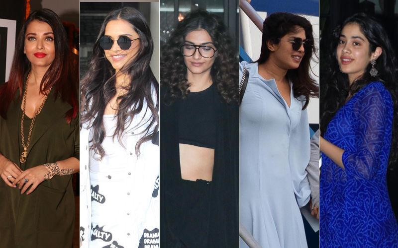 STUNNER OR BUMMER: Aishwarya Rai Bachchan, Deepika Padukone, Sonam Kapoor, Priyanka Chopra Or Janhvi Kapoor?