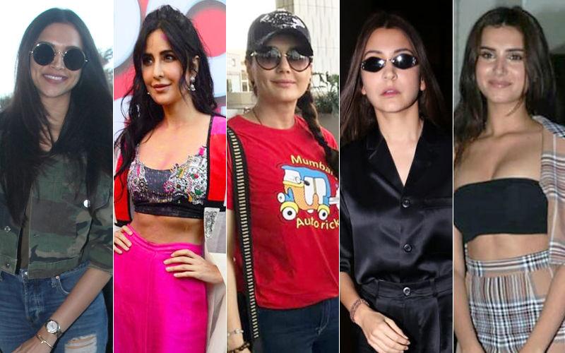 STUNNER OR BUMMER: Deepika Padukone, Katrina Kaif, Preity Zinta, Anushka Sharma Or Tara Sutaria?