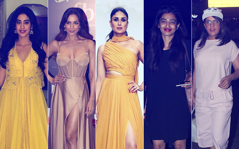 STUNNER OR BUMMER: Janhvi Kapoor, Malaika Arora, Kareena Kapoor, Radhika Apte Or Richa Chadha?