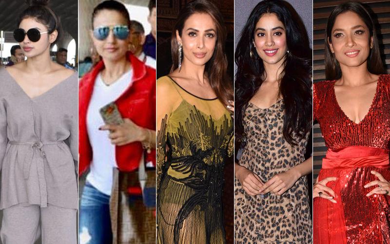 STUNNER OR BUMMER: Mouni Roy, Ameesha Patel, Malaika Arora, Janhvi Kapoor Or Ankita Lokhande?