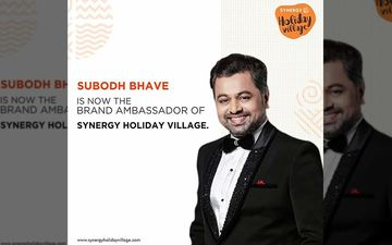 Subodh Bhave Looks Dashing As A Brand Ambassador For Luxury Vacation Projects