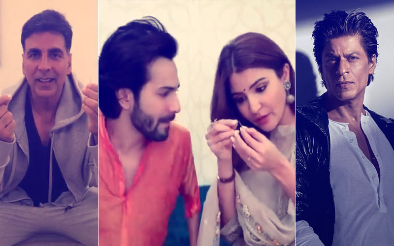 Akshay Kumar Nails Varun Dhawan-Anushka Sharma's Sui Dhaaga Challenge; Will Shah Rukh Khan Ace It?