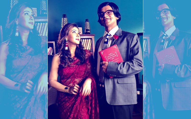 First Look: Sunil Grover & Shilpa Shinde On-The-Sets Of Their Cricket Show