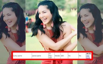 Wait. What? Sunny Leone Tops Bihar Junior Engineer Exam With 98.5 Marks! The Actress Reacts