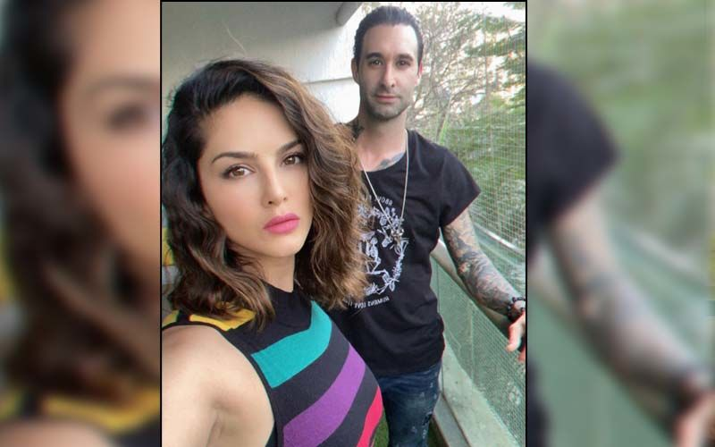 Sunny Leone Thanks Hubby Daniel Weber For Showering Her With Diamonds On Their Tenth Wedding Anniversary; Actress Flaunts The Blingy Necklace - WATCH