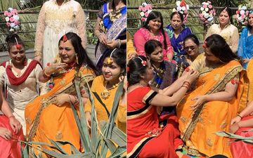 Diya Aur Baati Hum Actress Surbhi Tiwari's Haldi Ceremony- Deets Here With Pictures