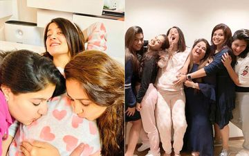 Surveen Chawla's Pyjama-Themed Baby Shower Was A Real Treat, Her Glow In The Pictures Is Proof