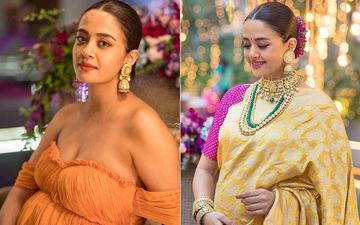 Surveen Chawla Is Mesmerising and Elegant At Her Godbharai Ceremony- Pics Inside