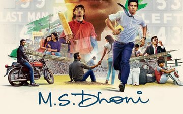 Dhoni's helicopter six collects Azhar's total run collection in 1 day!